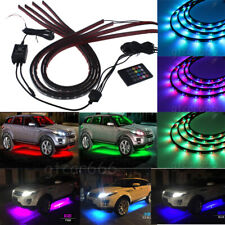 7 Color New Version 5050 LED Strip Under underglow Car Underbody Neon Lights Kit