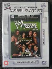 WWF WrestleMania 16 2000 WWE DVD's Tagged Classics Wrestling Hasbro Jakks Figur