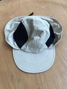 Patagonia Bimini Fishing Hat Cap Khaki/Black Size M