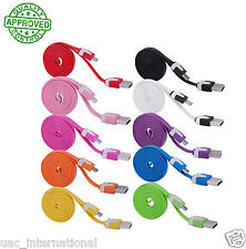 Micro USB Data Sync Charger Flat Cable 1M/2M/3M for Samsung