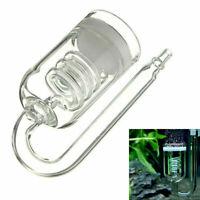 Clear Aquarium CO2 Diffuser for 60~300L Plants Tank Solenoid Atomizer Regul N0Q9