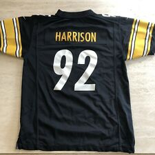 Nike Pittsburgh Steelers Jersey. James Harrison. Youth XL. Black