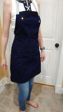 Le Creuset Textiles 3 Pocket Chef's Apron Navy Blue With Logo / Adjustable Osfa