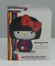 Hello Kitty Con 40th Precious Moments JANM Kokeshi Doll Porcelain Museum Ltd