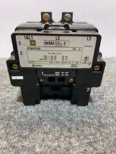 Square D 8736seo2s Motor Starter 120110 V Size 3 8736se02s Se02 31074 400 38