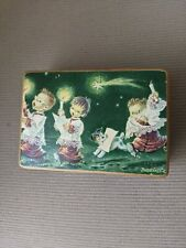 """Reuge Wooden Music Box plays Adeste Fideles """"O Come All Ye Faithful�"""