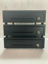 """Lot of 3 - 13"""" M-S Cash Drawers w/ keys and insert trays   Buy Now, Ships Today!"""