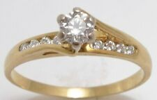 18 ct gold diamond engagement ring