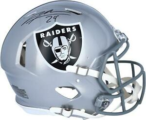 Charles Woodson Oakland Raiders Autographed Riddell Speed Authentic Helmet