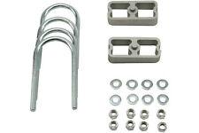 """Belltech 1"""" Lowering Block Kit, U-Bolts & Hardware (W/2 Degree Taper)"""