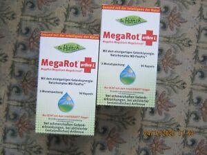 "(73,17 € / 100 g) Dr. Hittich  "" MegaRot arthro L "" 2 x 90 Kapseln  MHD 09-2022"