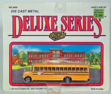 Road Champs International Wayne Body School Bus Diecast Scale Model White Card