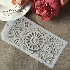 Flower Round Circle Lotus DIY Layering Stencils Wall Painting Scrapbook Decor