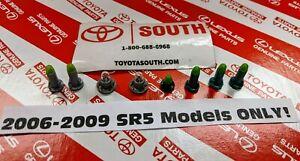 OEM 06-09 4Runner SR5 ONLY Control Knob Clock Dash Display Bulbs, Complete Kit