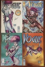 Vogue (1995) #1-3 Plus Variant - All Signed By Marat Michaels - Image Comics