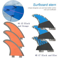 G5/G7 Surfboard Fins Tail Surfboard Surfing Sports Accessories 3 fins One Set
