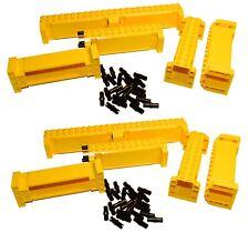 LEGO Technic Yellow Crane Section 4x12x3 LIFTARM (pack x 12) mindstorm nxt beam