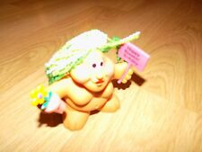"3"" Russ Chubby Lady Troll Pvc Figure Cake Topper Happy Bloomin Birthday Flower"