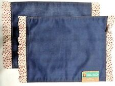 The Pioneer Woman Denim & Dots 2 Placemats Country Chic Table Reversible A