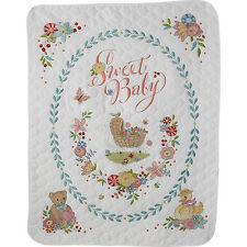 Cross Stitch Kit - Plaid / Bucilla - Sweet Baby Crib Cover #47726