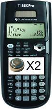 2 batteries for Texas Instruments TI-36X Pro Scientific Calculator TI36XPRO