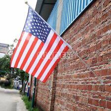 Aluminium flag pole kit flagpole kit 6ft white powder coated steel wall flagpole