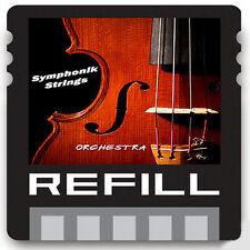 string orchestra propellerhead reason refill 4 5 6 7 8 violon viola cello kit