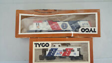 Vintage Tyco HO Scale Train ENGINE 1776 AND SPIRIT OF 76 CABOOSE in package