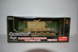 Motorworks Ultimate Soldier Flakpanzer IV Mobelwagen WW II German Tank MISB