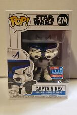 Funko Pop Star Wars Captain Rex 2018 274 Fall Convention Exclusive NYCC Shared