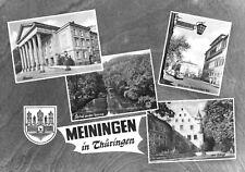 AK, Meiningen, vier Abb., gestaltet, 1965