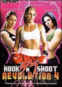 Hook N Shoot Revolution 4 DVD Women MMA Fights - Shelby Walker Ginele Marquez