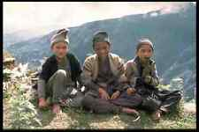 651010 Young Sherpas In Nepal A4 Photo Print