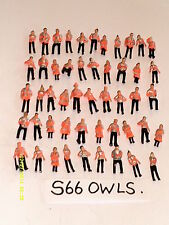 55 SUBBUTEO/MODEL RAILWAY HIGH VIZ STEWARDS/WORKMEN.1:76 SCALE**BIRTHDAY  IDEA**