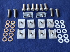 10 x Aprilia RSV Mille 1000 RS 125 50 m5 Stainless Fairing Panel Bolts & Clips