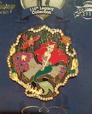 110th Legacy Disney Pin Ariel Little Mermaid LE 250 Limited Edition Free Ship
