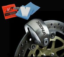 XENA XX14 MOTORCYCLE / MOTORBIKE ALARM DISC LOCK 120db PLUS FREE V2 SPONGE