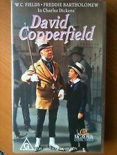 DAVID COPPERFIELD ~ W.C.FIELDS + FREDDIE BARTHOLOMEW~ RARE VHS VIDEO ~ FREE POST