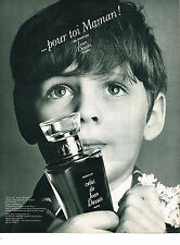 PUBLICITE  1968   JEAN DESSES   parfum CELUI