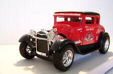 1929 Ford Model A  - HotRod Jim Beam Custom Graphics - 1/24 Red Diecast
