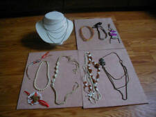 Vintage Costume Jewelry lot ~10pcs Necklace ......Excellent # NBX 47
