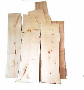 5 Stück ca. 4 mm Zirbenholz 100% Alpenzirbe Zirbenbrett Arve Bretter Deko