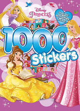 DISNEY PRINCESS 1000 Stickers Book Over 64 Pages Colouring Stickers Activities