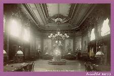 AIX-LES-BAINS : SALLE DE JEU DE LA VILLA DES FLEURS, CASINO, ALBUMINÉ 1890-J2