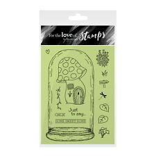 CASA in una cupola-per l'amore dei timbri Clear Stamp Set-Hunkydory