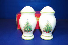 Holiday Celebrations Christmas Tree S&P Shakers Christoper Radko Salt Pepper