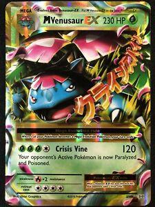 Pokemon M Venusaur EX 2/108 Holo Evoluzioni - ENG - Near Mint