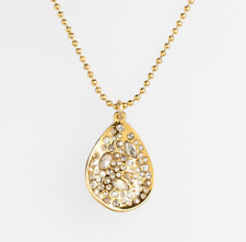 Alexis Bittar 'Miss Havisham' Small Teardrop Pendant Necklace 0224