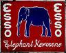 Esso Elephant Car  - VINTAGE ADVERTISING ENAMEL METAL TIN SIGN WALL PLAQUE