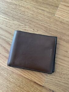 Coach Wallet For Men Brown Leather Wallet